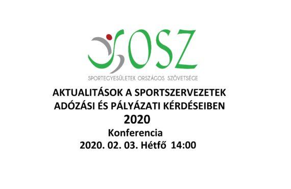 SOSZ KONFERENCIA 2020